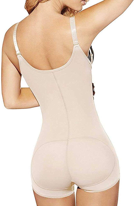YIANNA Shapewear Damen Bauchweg Body Shaper Fajas Colombianas Taillenformer Figurformender Bodysuit