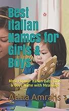 Best italian baby name book Reviews