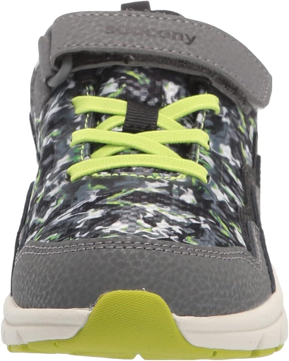 Saucony Unisex-Child Flash Alternative Closure 2.0 Sneaker