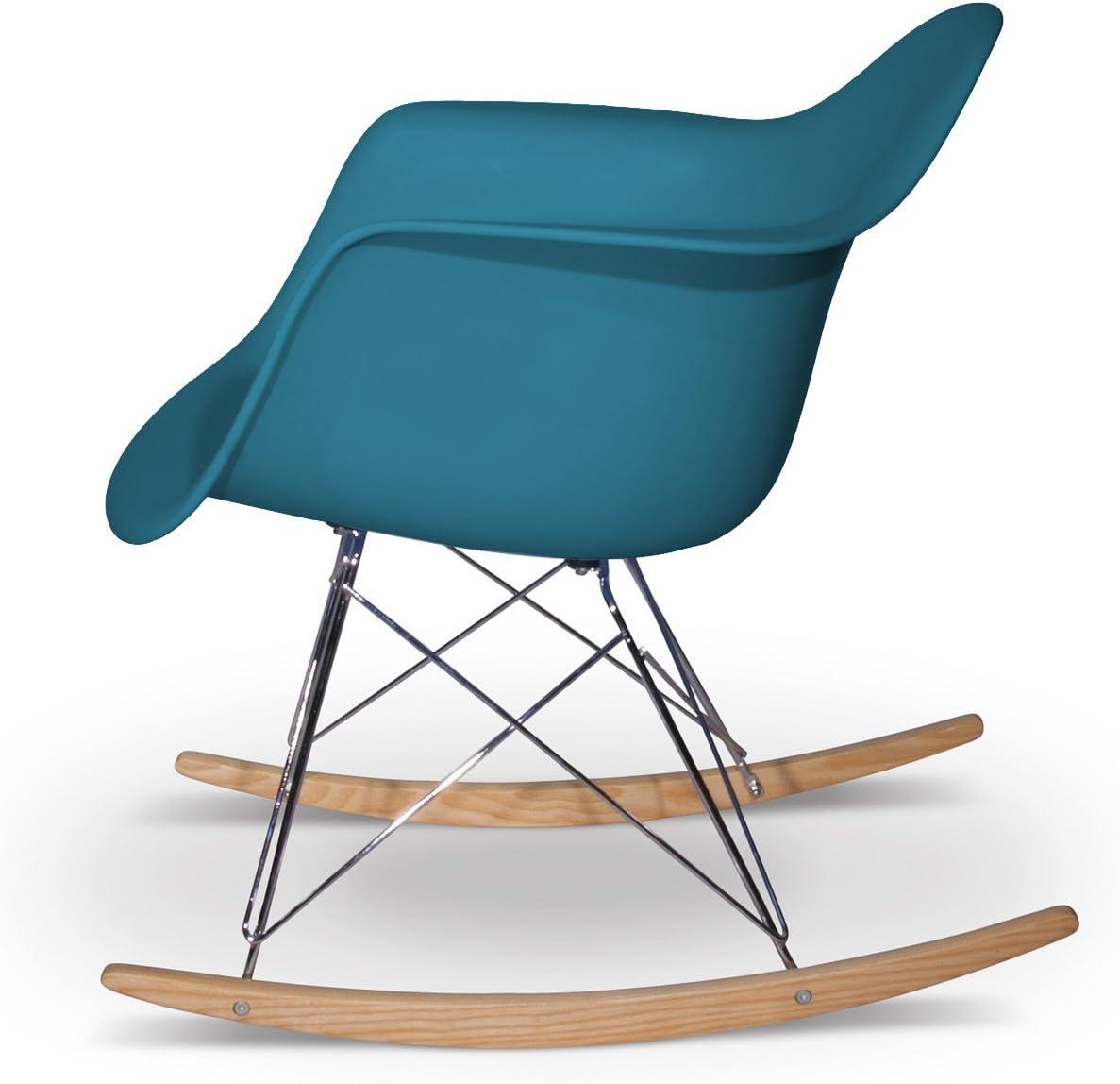 Aryana Home Chaise à Bascule réplique Eames Noire Océano