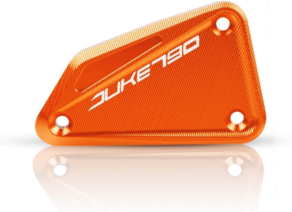 Motorrad Vorne Brems Flüssigkeit Sbehälter Deckel Für Ktm Duke 790 2018 2019 Ktm 790 Adventure 2019 Ktm 790 Adventure R 2019 Orange Auto
