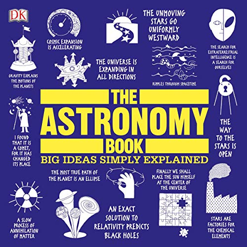 The Astronomy Book audiobook cover art