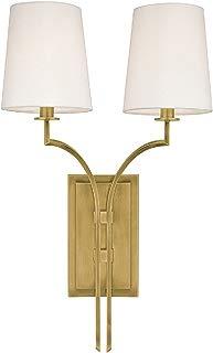 Hudson Valley Lighting Hudson Valley Glenford 2-Light Brass Wall Sconce