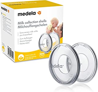 Medela Breast Milk Collection Shells | Breast Milk Saver | Capture Every Drop When Breast Feeding or Pumping