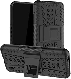 TenDll Case for SamsungGalaxyXcover5, Shockproof Tough Heavy Duty Armour Back Case Cover Pouch With Stand Double Protec...