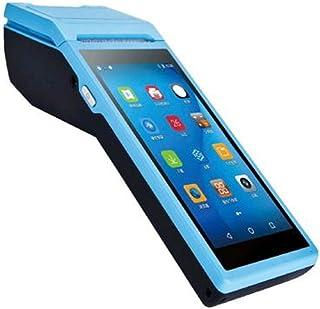 JINSUO المحمولة باليد POS كمبيوتر Android 6.0 PDA طرف مع 5.5 بوصة تعمل باللمس 3G Wifi بلوتوث NFC طابعات PDA الحرارية (اللو...