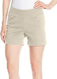JAG Jeans Womens Shorts Beige US Size 14 Ainsley Pull-On Stretch Twill