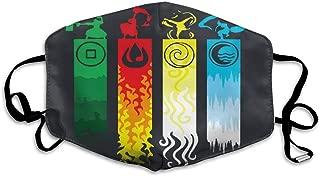 Particular Avatar The Last Legend Airbender of Korra Aang Masks, Unisex Polyester Masks, Dust Masks, Cute Cartoon Masks