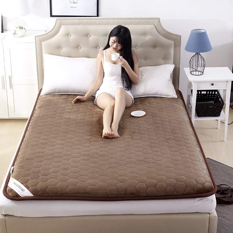 Folding Floor Sleep Tatami Mattress Mattress with Four Seasons,Single Double Student Dormitory Home Mattress-a 100x200cm(39x79inch)