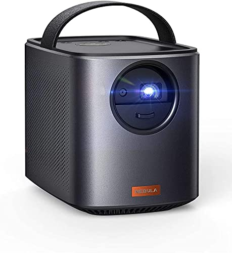discount Nebula, by Anker, Mars II 300 ANSI Lumen Home Theater outlet sale Portable Projector with 720p 30 to 150 Inch DLP Picture, Outdoor wholesale Projector, 10W Speakers, Android 7.1, 1-Second Autofocus (Renewed) sale