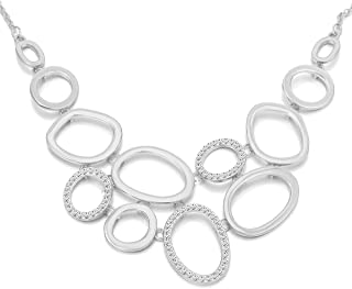 3a49d8cef84e38 Collana donna, catena di anelli Collana pendente per ragazze Collana lunga  catena di dichiarazione con