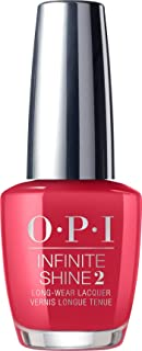 OPI Infinite Shine Nail Polish, Unequivocally Crimson, 15ml