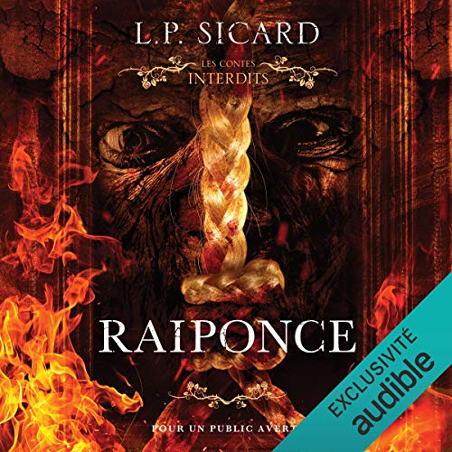 Raiponce audiobook cover art
