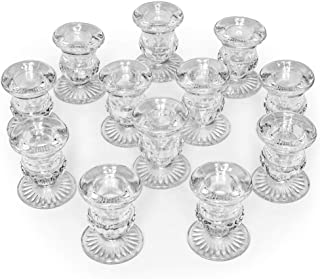 Letine Candlestick Holders Set of 12-2.5