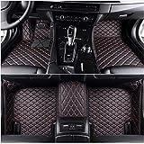 HCDSUSN Leder Auto Fußmatten, für BMW 3 Serie E30 E36 E46 E90 E91 E92 E93 F30 2000-2018 Benutzerdefinierte Fuß Automobil Teppichabdeckung
