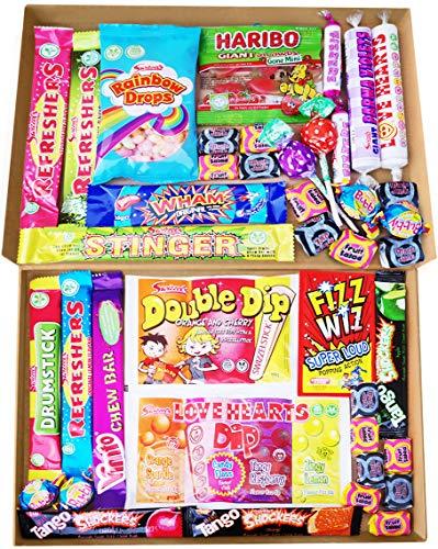 Retro Sweets Gift Box | Retro Sweets Treats All Childhood Classic Selection Box