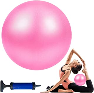 Wekin Yoga Mini Stability Ball 9 Inch Exercise Pilates Ball for Back Foot Neck Spine Shoulder Physical Trigger Point Thera...