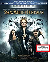 Snow White and the Huntsman 3 DISC LIMTED EDITION Blu-ray / DVD / Digital Copy / Ultraviolet / BONUS DVD Disc With