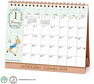 JAPANESE CALENDAR Art Print Japan 2020 Peter Rabbit Calendar (Desktop) vol.202 1000109410