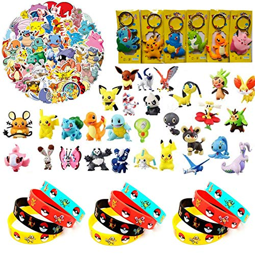 YAOJIN Pokemon Spielzeug Set, Pokemon...