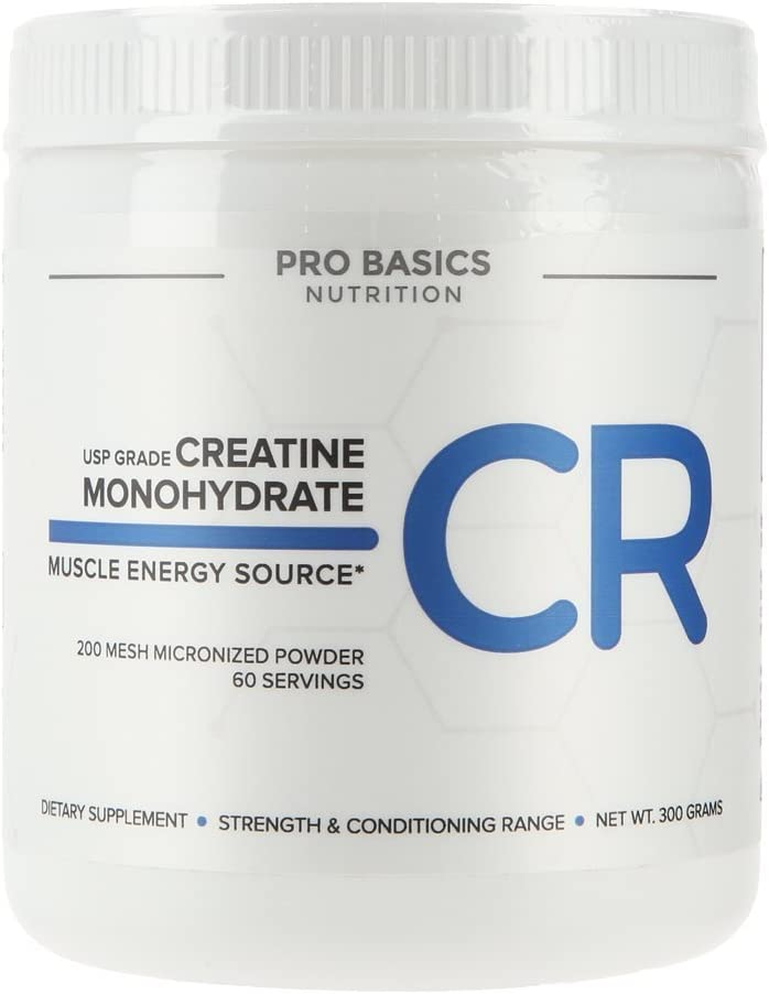 Pro Basics USP Grade Large discharge sale Creatine Micronized Pure Department store Powde Monohydrate