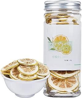Lemon Slices Tea,Organic Nature Sun-Dried Lemon Slices,Fragrance Citrus Fruit,Chinese Flora Herbal Tea Supplement-45G
