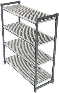 Cambro ESU214872V4580 4-Shelf 21 x 48 x 72 Starter Shelving Unit Set
