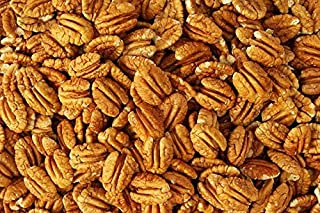 Orchard Fresh Raw Pecan Halves 1-Pound | Millican Pecan since 1888 | San Saba, Texas