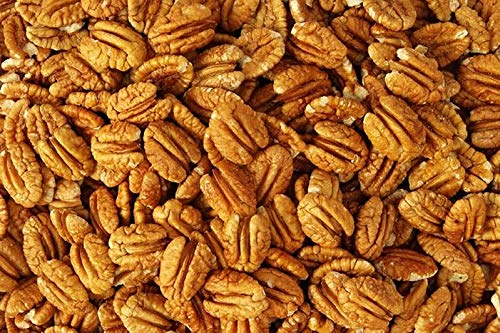 Orchard Fresh Raw Pecan Halves 1-Pound | Millican Pecan since 1888 | San Saba, Texas
