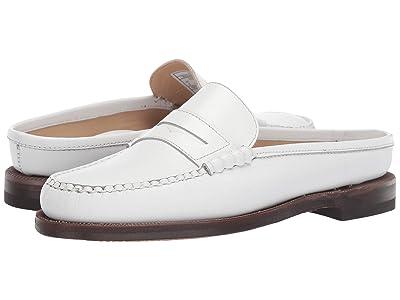 Sebago Classic Dan Clog Pop (White) Women
