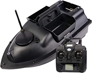 Lycoco Barco de Cebo de Pesca Inteligente, lámpara de Pescado de señuelos, Control Remoto de 500 m, 1.5 kg de la Herramien...