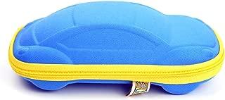 Sunglass Case - Blue Car