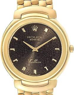 Rolex Cellini Quartz Male Watch 6623 (Certified Pre-Owned)