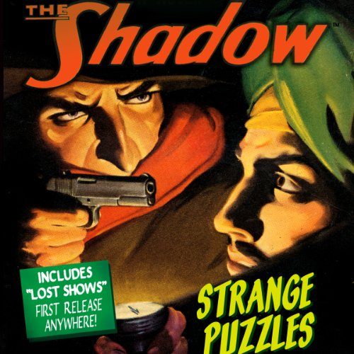 Strange Puzzles audiobook cover art