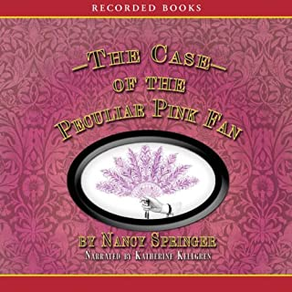 The Case of the Peculiar Pink Fan audiobook cover art