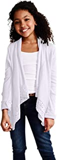 Cardigan for Girls – Open Front Long Sleeve Fall Sweater
