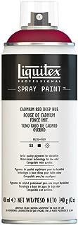 Liquitex Professional – Pintura acrílica en spray, 400ml, color rojo