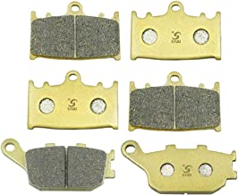 SYUU Motorcycle Replacement Front Rear Brake Pads Brakes for Suzuki GSF 1200 Bandit 2006 GSX 1250 F 2010 2011 2012 2013 2014 FA158F FA174R