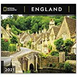 National Geographic England 2021 Wall Calendar