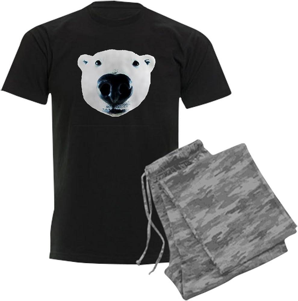 CafePress Polar Ranking TOP16 Bear Sniff security Men's Dark Set Pajamas Pajama