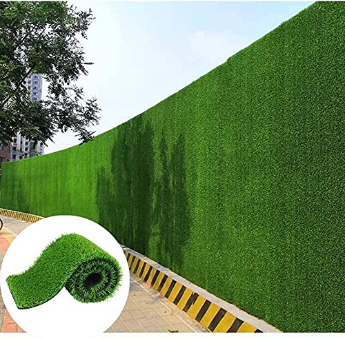HSWYJJPFB Fence Privacy Screen Outdoor Indoor Decorations Artificial Turf Privacy Fence Garden Privacy Fence Ivy Hedge Garden Decoration Garden Fence Decorations(Color:Green;Size:1x7m)