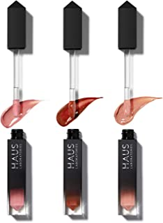 HAUS LABORATORIES By Lady Gaga: LE RIOT LIP GLOSS SET | (Up to $108 Value) High-Shine, Lightweight Lip Gloss Available in ...