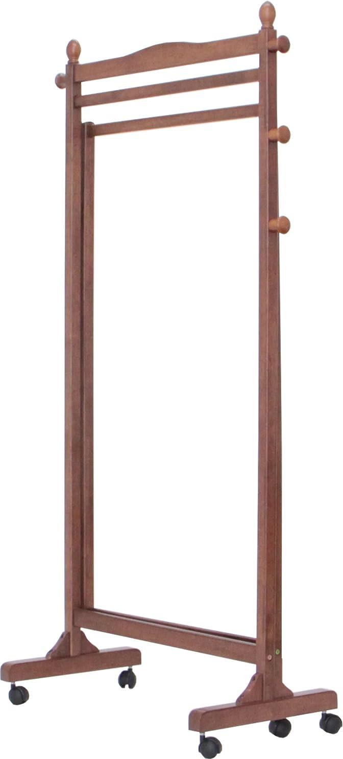 アクロバット賢明な伝統ヤマソロ 3way ハンガー ブラウン色 40-343