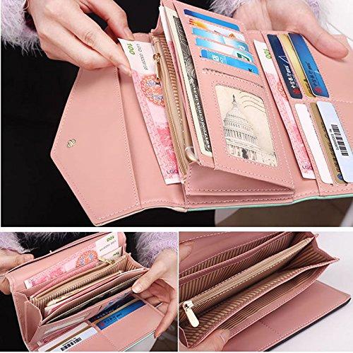 NEW Designed Women Lady Leather Clutch Envelope Wallet Long PU Card Holder Case Purse Handbag Good quality