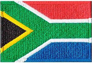 Patch Bordado - Bandeira Da Africa Do Sul BD50122-122 Termocolante Para Aplicar