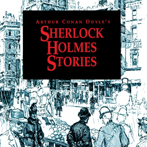 Sherlock Holmes Stories: 'The Red-Headed League' and 'The Final Problem' audiobook cover art
