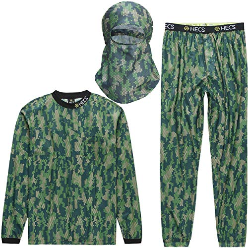 HECS Hunting 3-Piece HECStyle Camo Suit - Deer and Turkey Hunting Suits for Men and Women - Stealthscreen Suit Technology