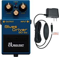 BOSS BD-2W Waza Craft Blues Driver Effects Pedal (With PSA-120S2 Power Supply)