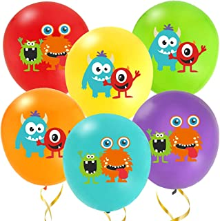 Kreatwow Monster Bash Balloons for Monster Bash Party Decorations 36 Pack