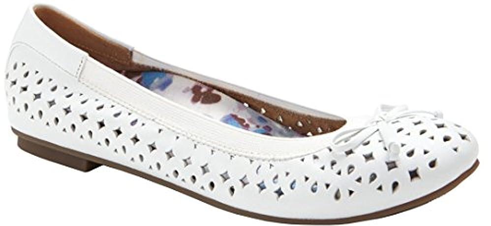 免疫機械的おしゃれなVIONIC(バイオニック) レディース 女性用 シューズ 靴 フラット Surin - Black [並行輸入品]